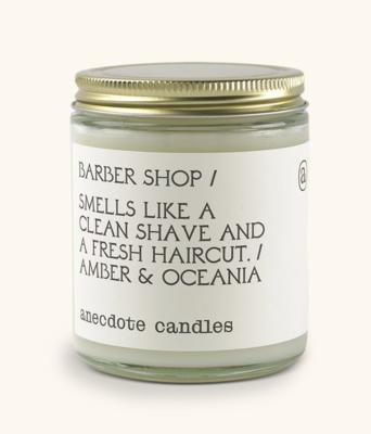 Barber Shop Candle