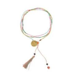 Bali UNITY Beaded Bracelet - Peach