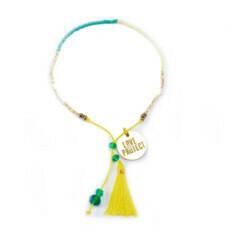 Bali UNITY Beaded Bracelet - Yellow
