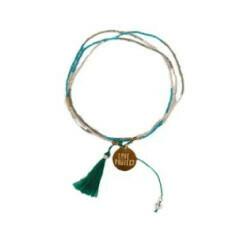 Bali UNITY Beaded Bracelet - Green