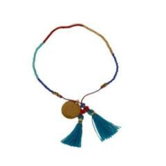 Bali UNITY Beaded Bracelet - Turquoise