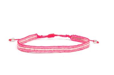 Love Light Beaded Bracelet - Pink