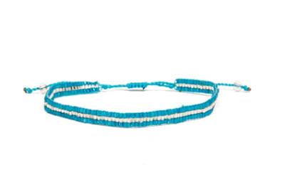 Love Light Beaded Bracelet - Turquoise