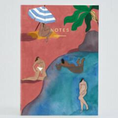 Pink Beach Notebook