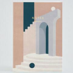 Pastel Doorway Notebook
