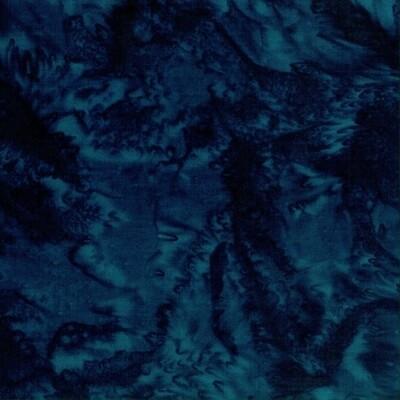 Midnight Watercolor Batik