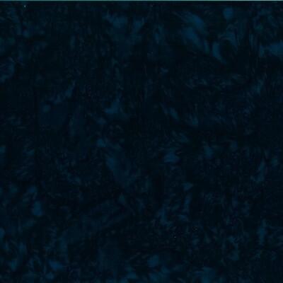 Deep Teal Watercolor Batik