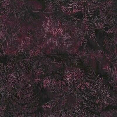Fern Purple Batik