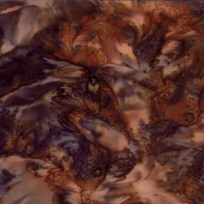 Walnut Watercolor Batik