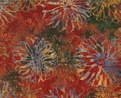 Dahlia Flower Batik