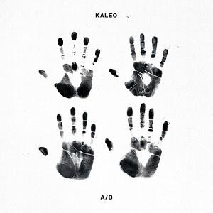 Kaleo - A/B LP Icelandic version (Black/White Split Color Vinyl)