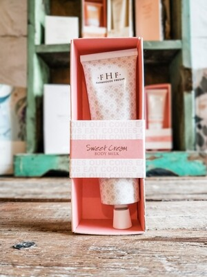 SWEET CREAM- BODY MILK HAND CREAM 2.5 OZ.