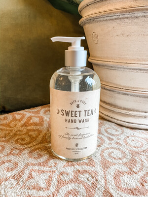 SWEET TEA HAND WASH- 12OZ