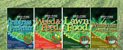 Gro•Fine 4-step Lawn Program (5,000 sq.ft.)