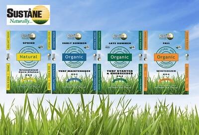 Sustane 4-step Lawn Plan