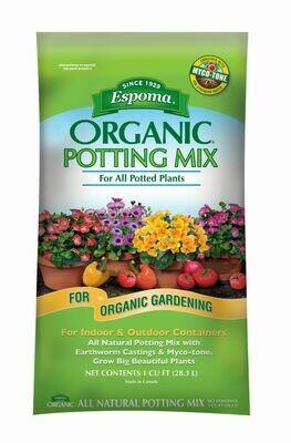 Espoma Organic Potting Mix 1 cu. ft.