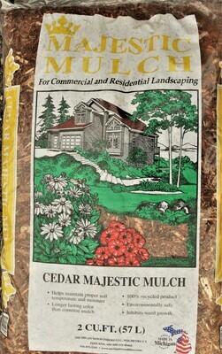 Cedar Majestic Mulch 2 cu. ft.