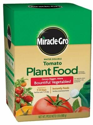 Miracle Gro Tomato Food
