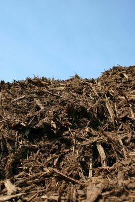 Bulk Hardwood Bark Mulch