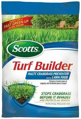 Scotts Turf Builder + Halts