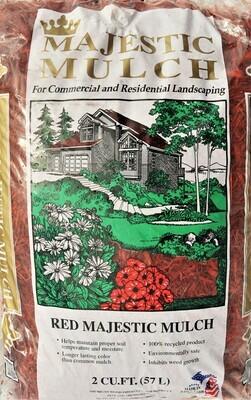 Red Majestic Mulch 2 cu. ft.