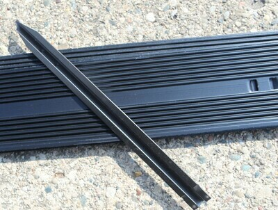 Aluminum Edging Black