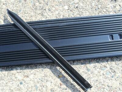 Aluminum Edging Stakes Black