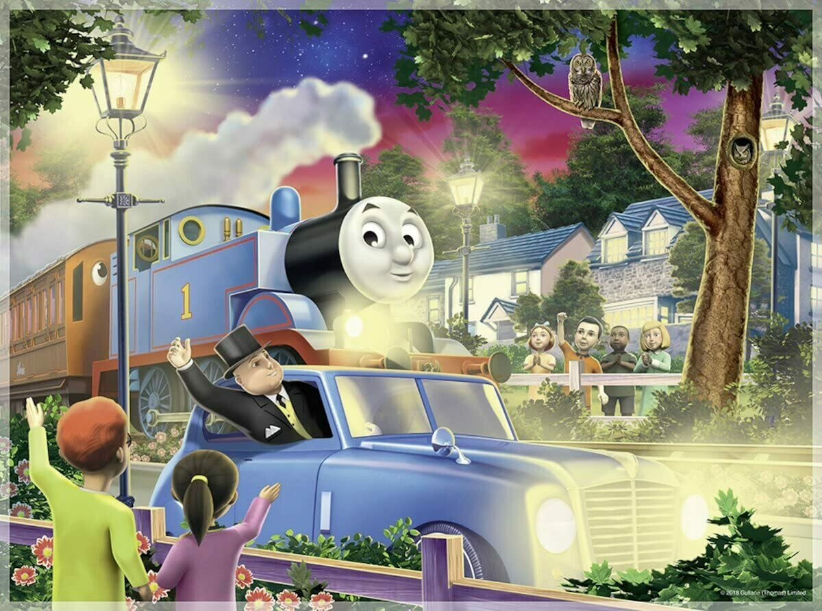Travelling Thomas - 100 pc (glow)