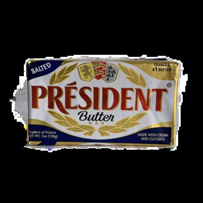 president salted butter 7 oz.