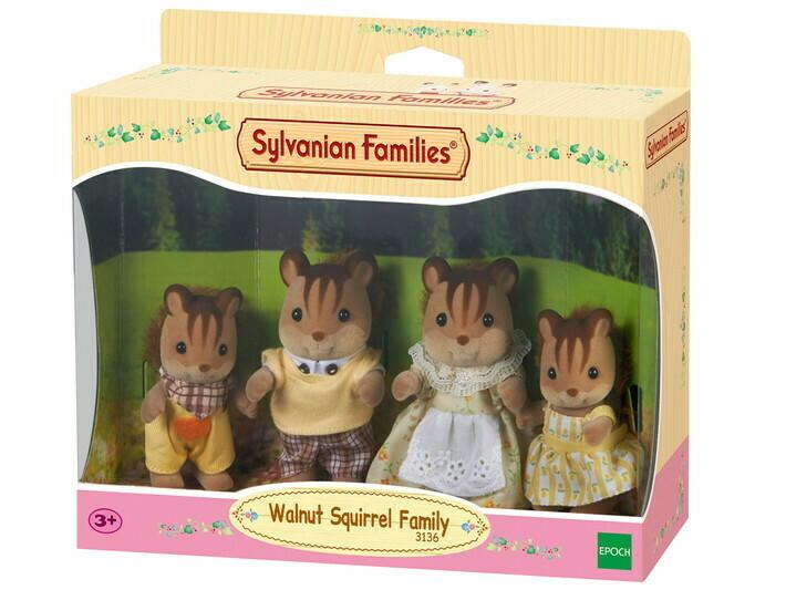 Eichhoernchen-Familie von Sylvanian