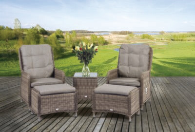 Tuscany Reclining Lounge Set