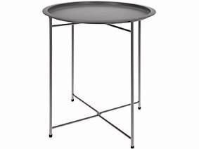 Foldable Metal Table 46cm x 52cm