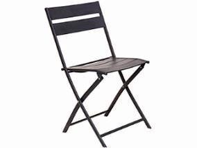 Aluminium Chair - dark grey