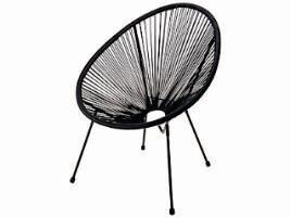 Metal Chair - Black