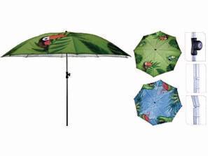 Beach Umbrella with Heart Transfer