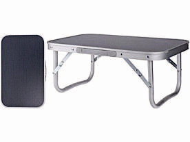 Camping Table in Grey 56x34x24.5cm