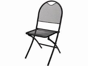 Folding Steel Mesh Chair