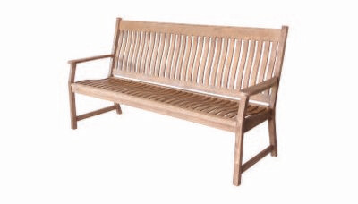 Hanoi 3 Seater Slatted Bench