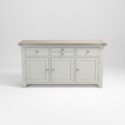 Sideboard 3 door 3 drawer large