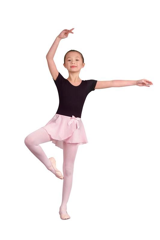 DAN 232 Child's Georgette Circle Skirt w/ Bow