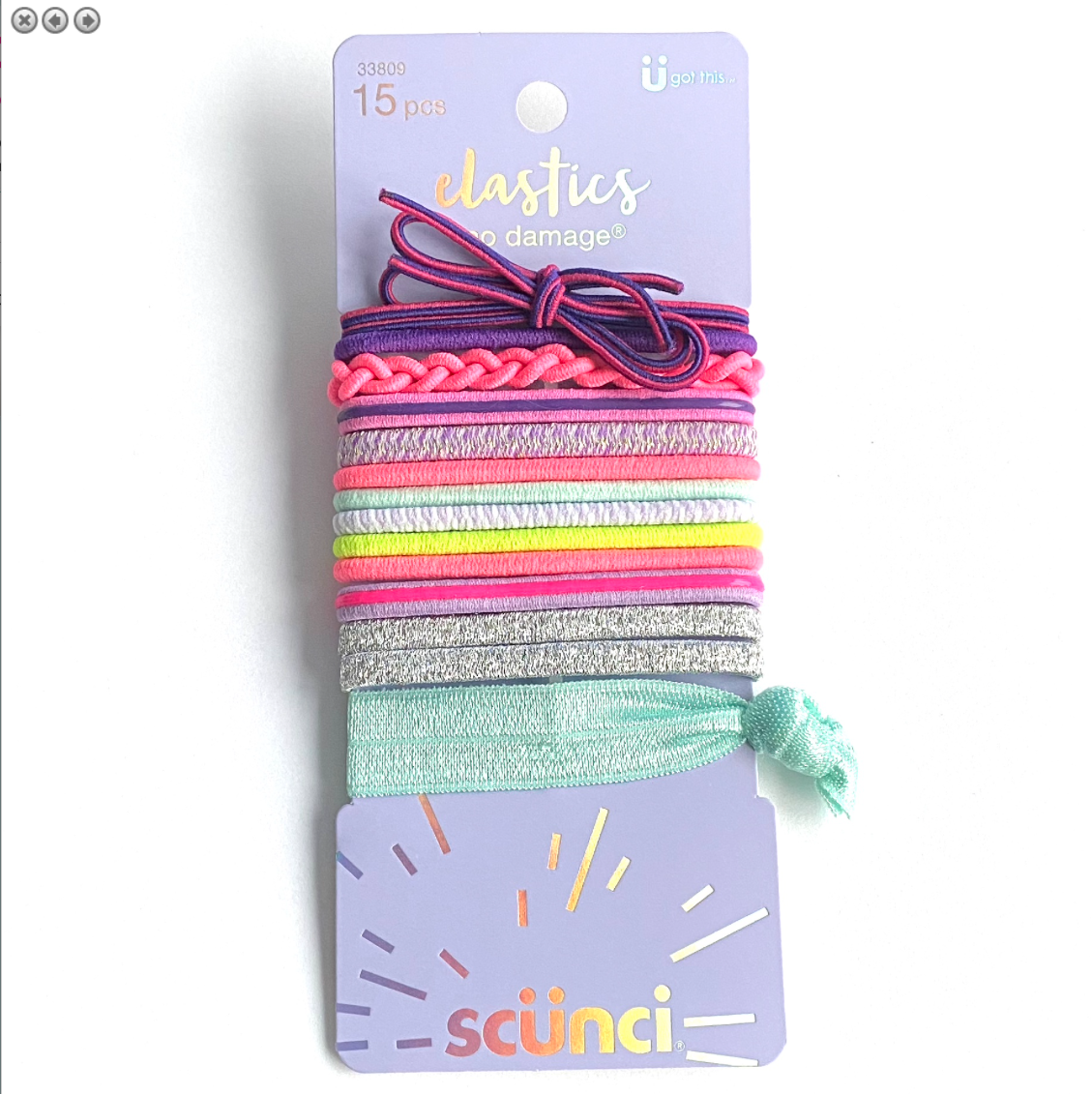 Scunci Color Hair elastics