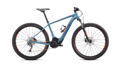 Specialized Turbo Levo Hardtail - 2020 |  Storm Grey/Rocket Red