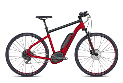 Ghost HYB Square Cross B4.9 AL red/blk S