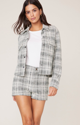 Tweed Snap Jacket
