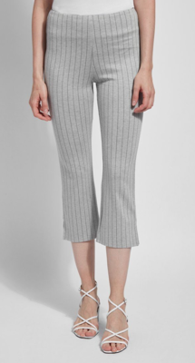 Gry Cropped Kick Flare