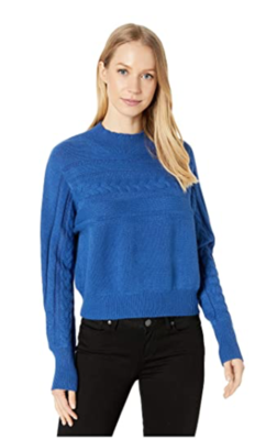 Royal Cropped Sweater