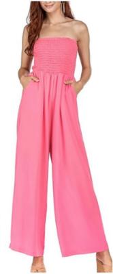 Pink Smocked Jumper