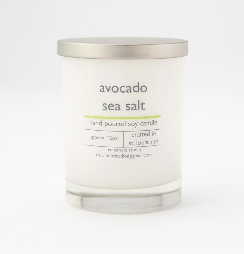 Avocado Sea Salt Candle