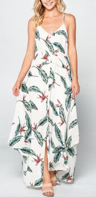 White Jasmine Maxi Dress