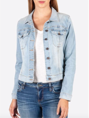 Lt. Amelia Denim Jacket